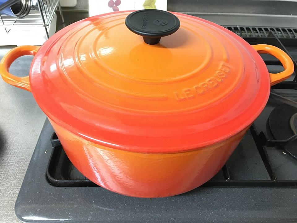 ルクルーゼの鍋の写真