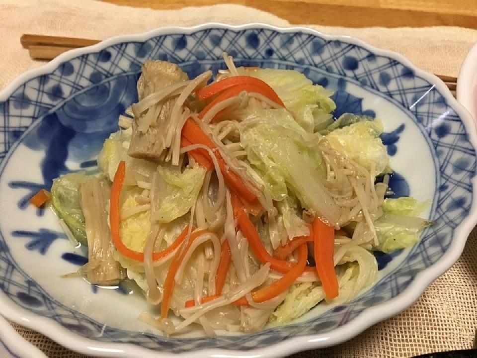 白菜の煮物の写真