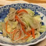 白菜とエノキのさっぱり煮の写真