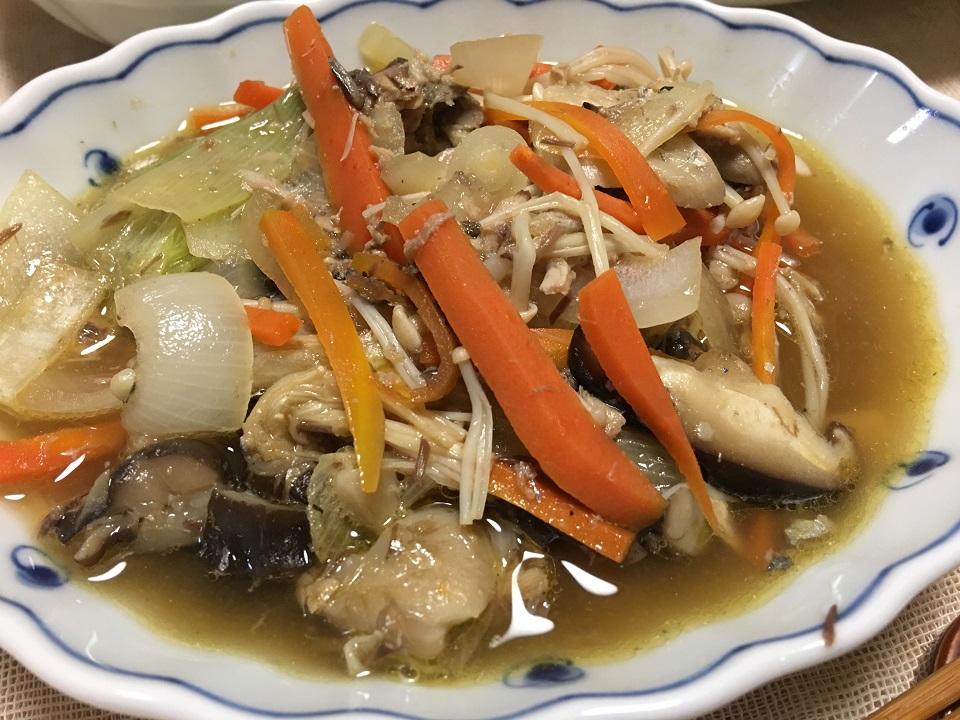 サバの野菜煮の写真