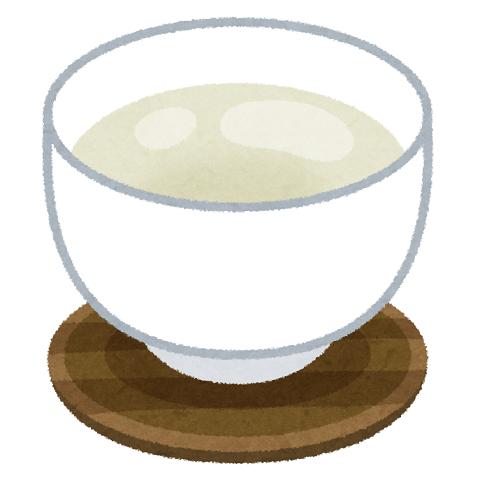 温かい飲み物のイラスト