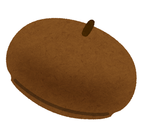 ベレー帽の写真