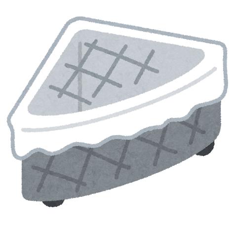 三角コーナーのイラスト