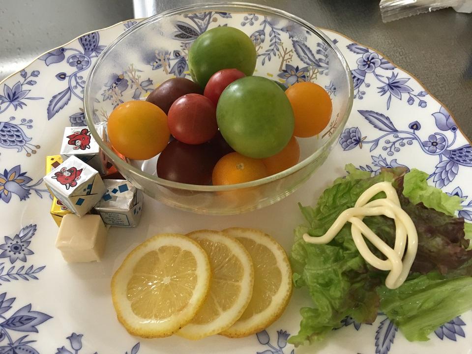 プチトマトの盛り合わせの写真