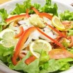 鯖缶おしゃれごちそうサラダの写真