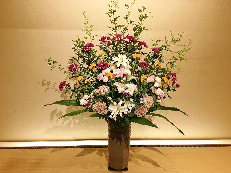右源太の大きな花の写真