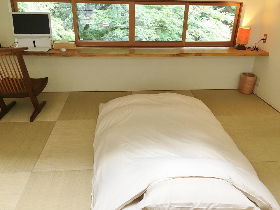 右源太のロフトの寝室の写真