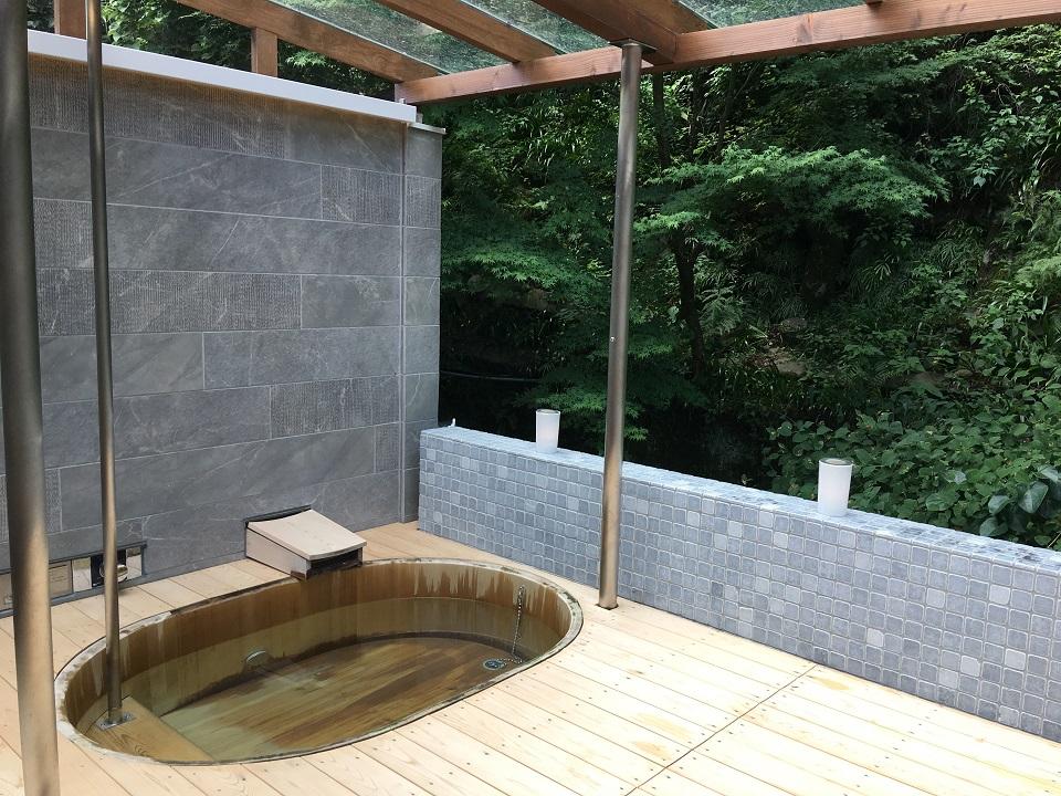 右源太の露天風呂の写真