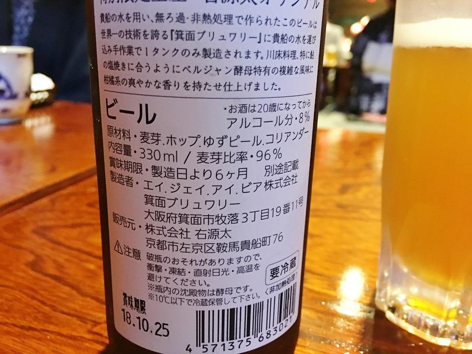 ビールのラベルの写真