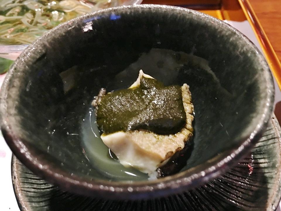 アワビの柔らか煮の写真