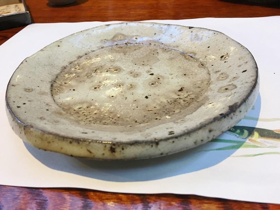 丸い皿の写真