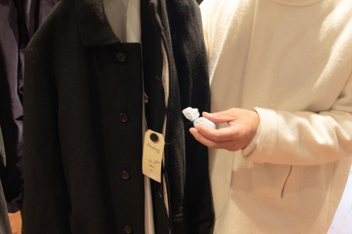 コートのポプリの写真