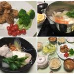 ふぐの唐揚げと河豚鍋の写真