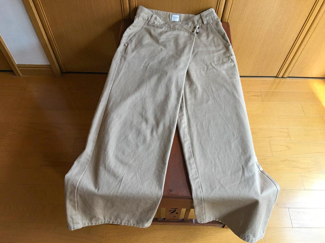 古着のパンツの写真