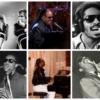 スティーヴィー・ワンダーが歌っている6枚の写真