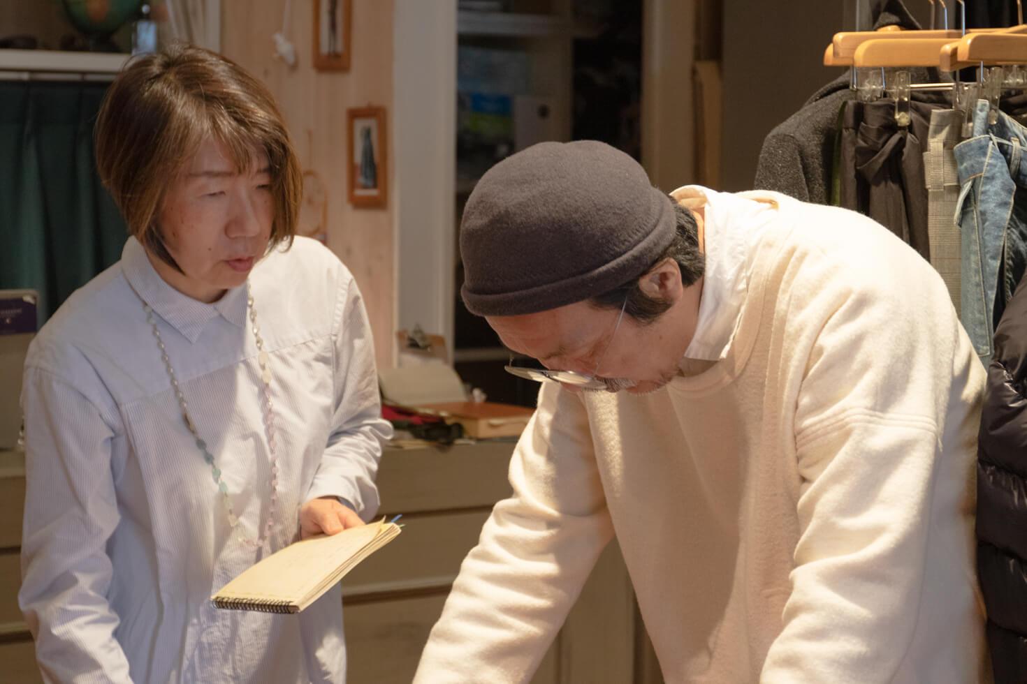ガッツの無知にショックを受ける浅田と不安なガッツの写真