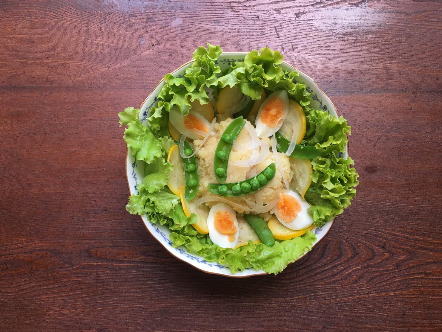 タラモサラダごちそうアレンジバージョンの写真