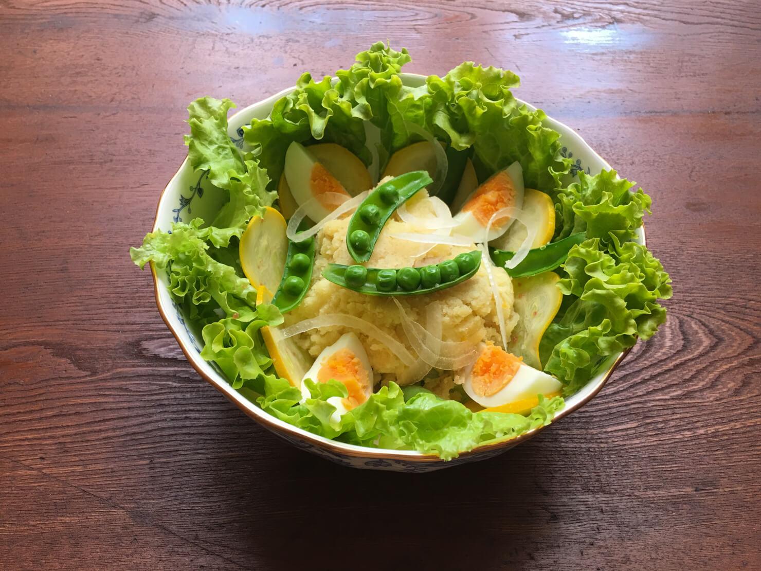 タラモサラダの写真