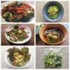 きゅうりの漬物を使ったいろいろな料理の写真