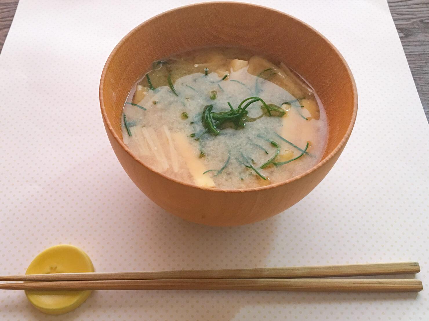 おかひじきと人参のポン酢煮の写真