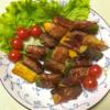 ズッキーニの肉巻きの写真