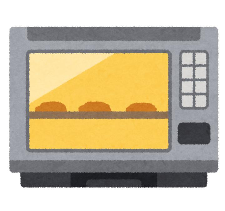 オーブンレンジのイラスト