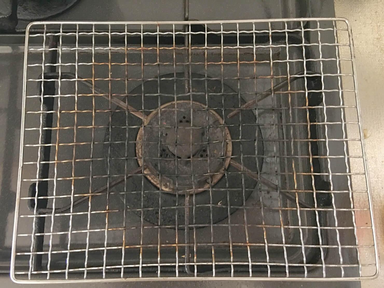 焼き網の写真