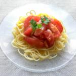 冷んやりさっぱりトマトの冷製パスタ・ランチにも|ゴニョ研