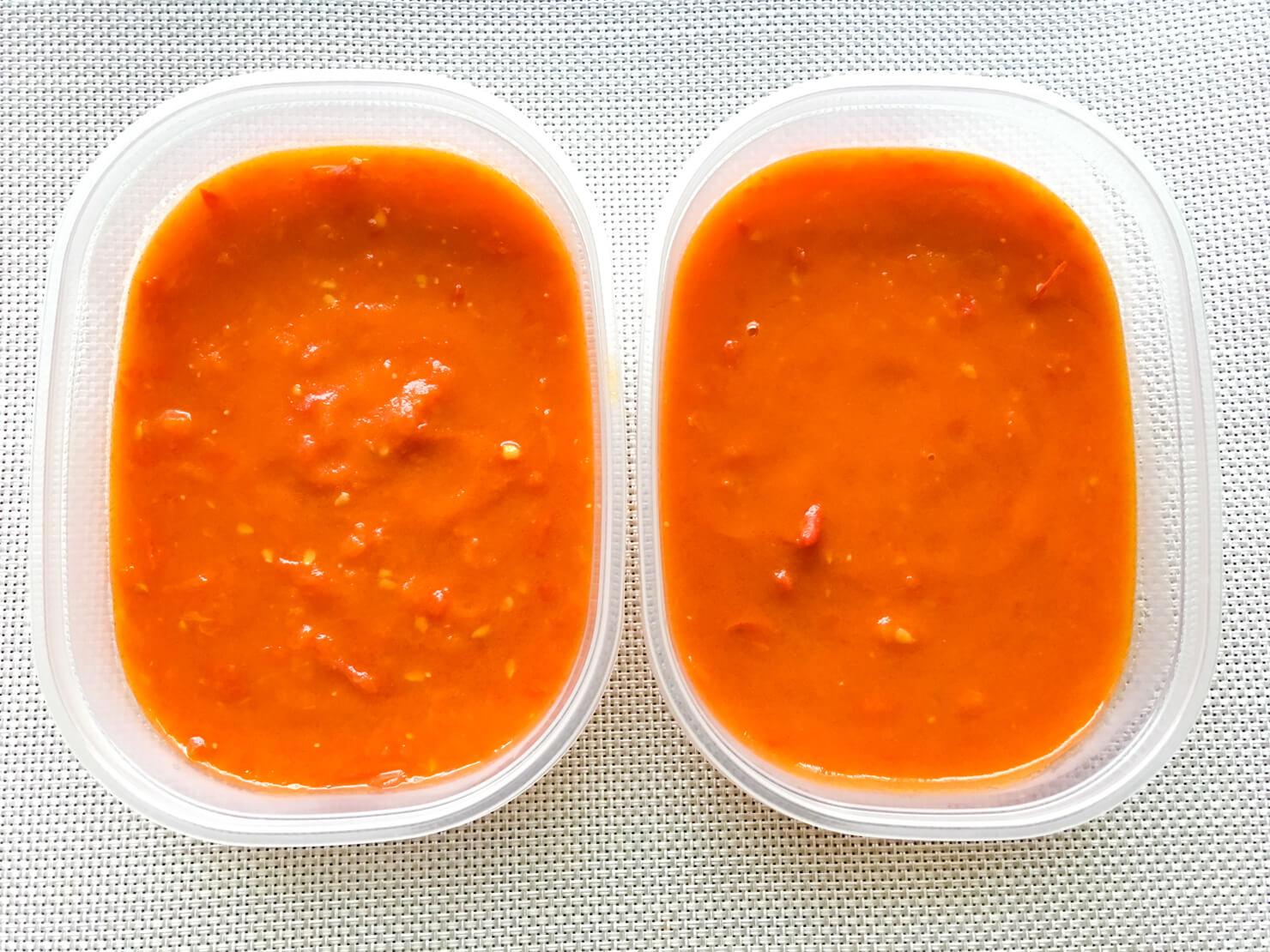 フレッシュトマトのトマトソース