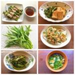 空芯菜や空芯菜料理の写真
