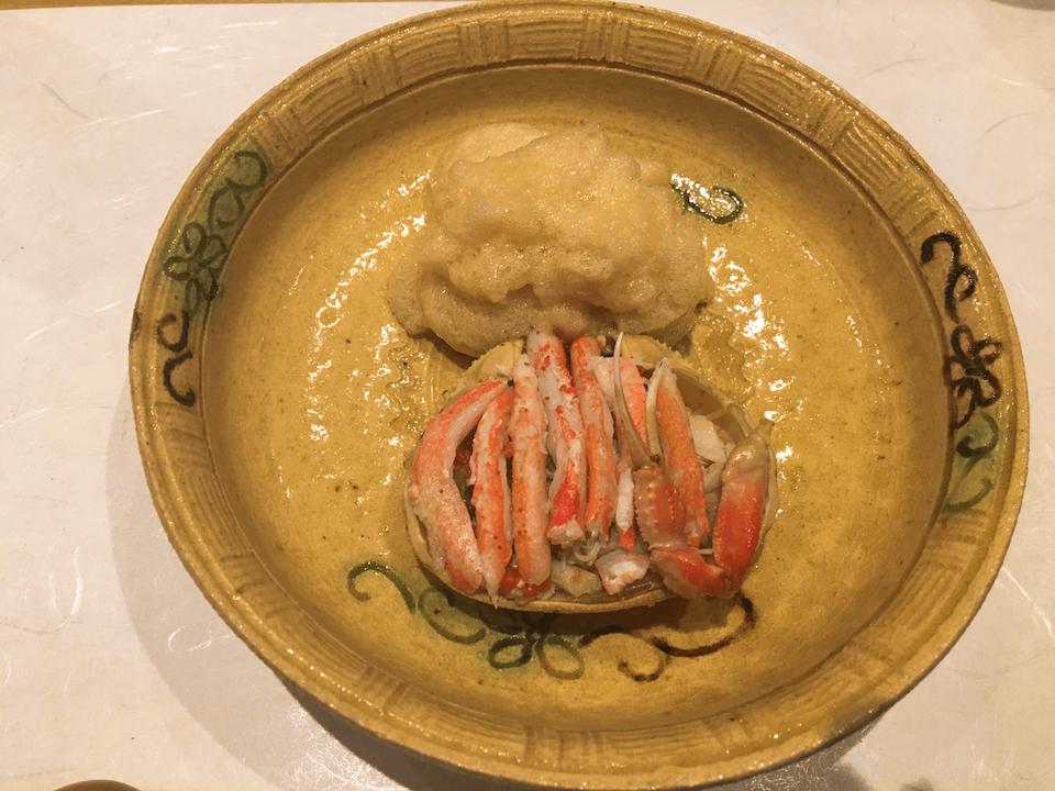 セコガニの酢の物の写真