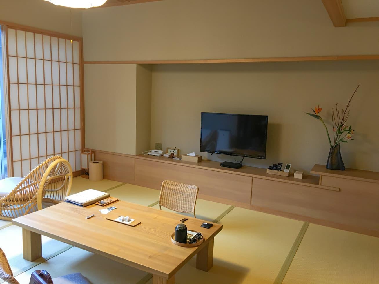 強羅白檀の和室の写真