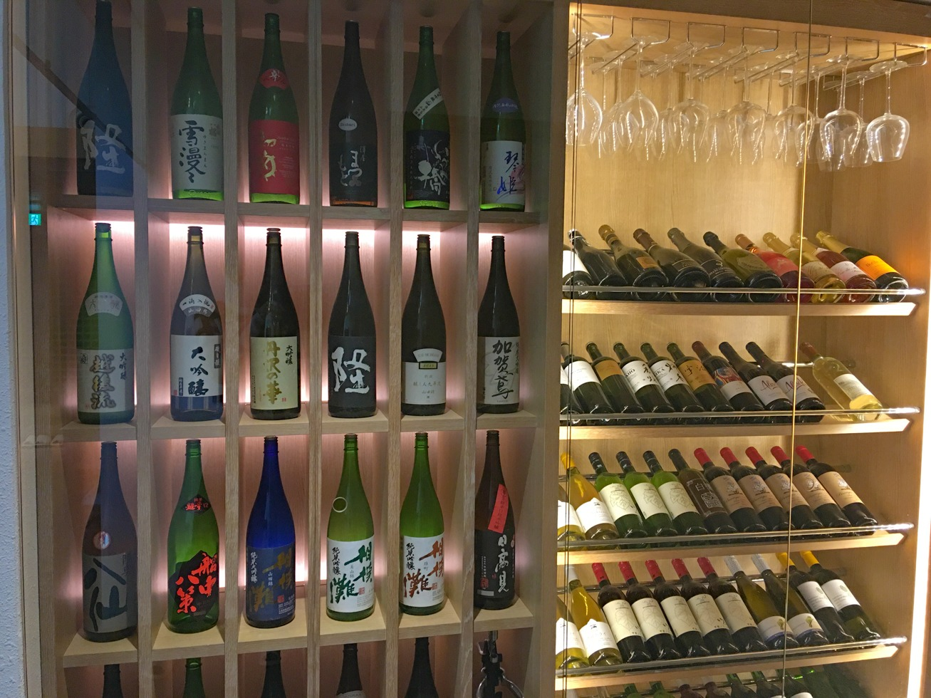 ワインや日本酒の写真