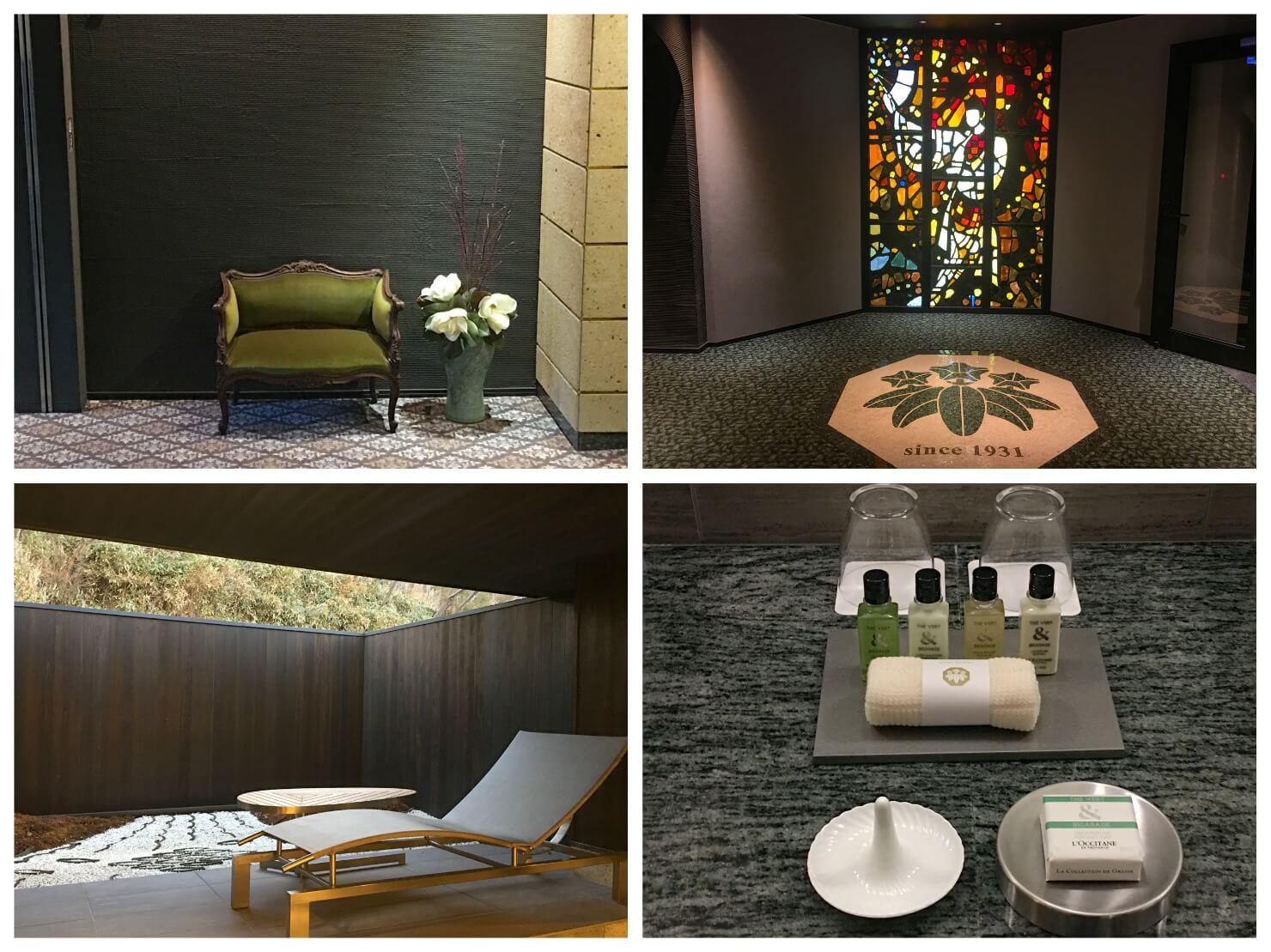 金谷リゾート箱根の内装や調度品の写真