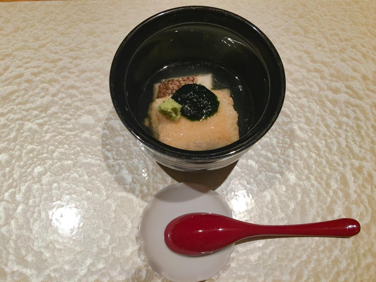 強羅白檀の晩ご飯の写真