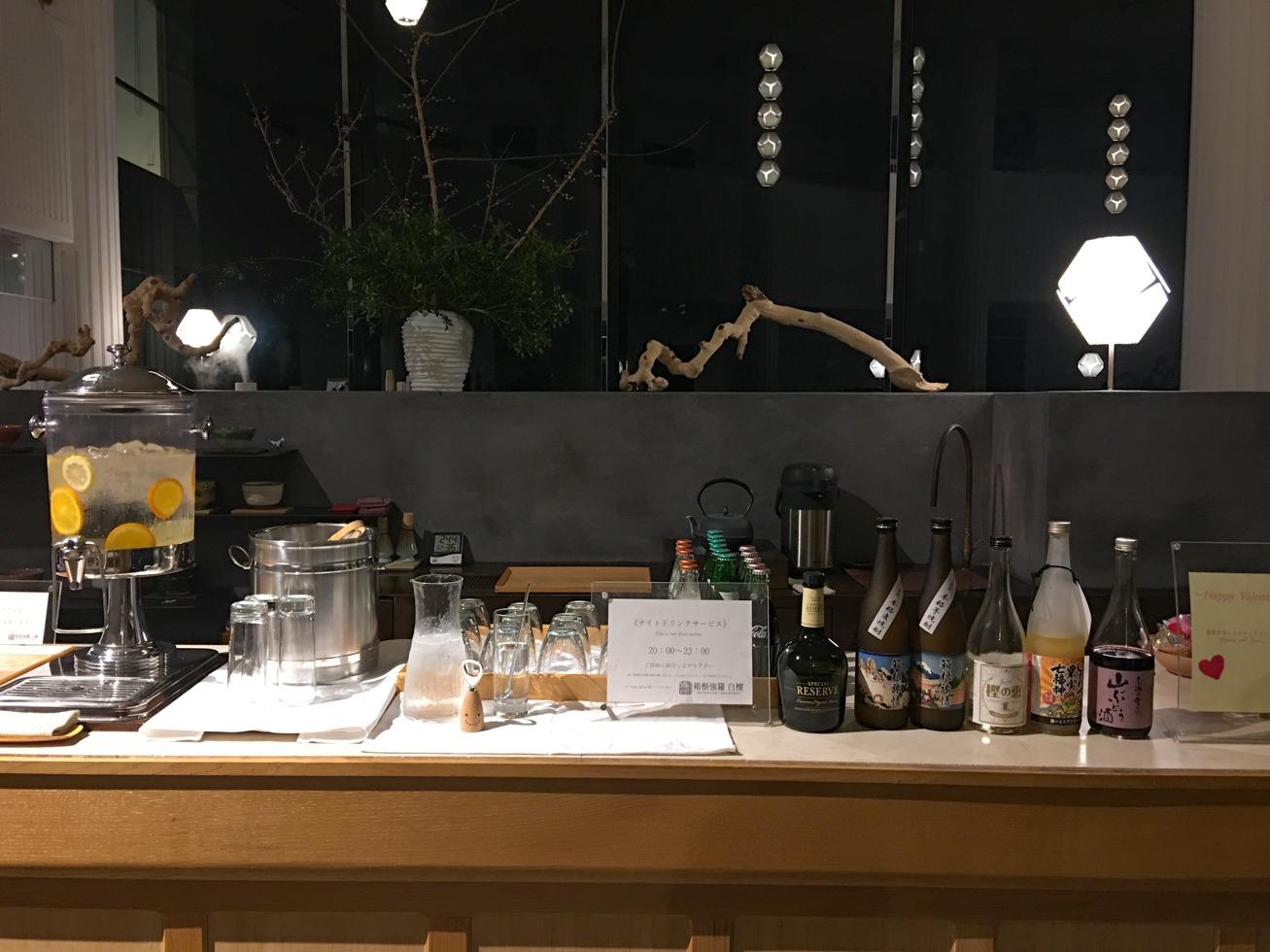 ロビーの飲み物の写真