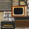 テレビやレコードの写真