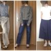 プチプラファッションの写真