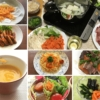 たくさんの人参料理の写真