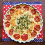 オクラとトマトのキッシュのレシピ・1皿で栄養満点!|ゴニョ研
