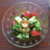 トマトと水ナスのマリネの写真