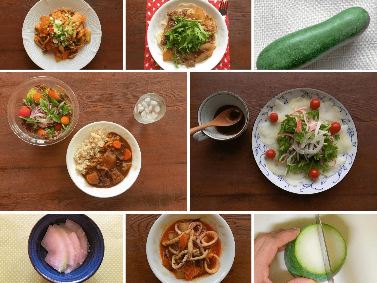 冬瓜や冬瓜料理の写真