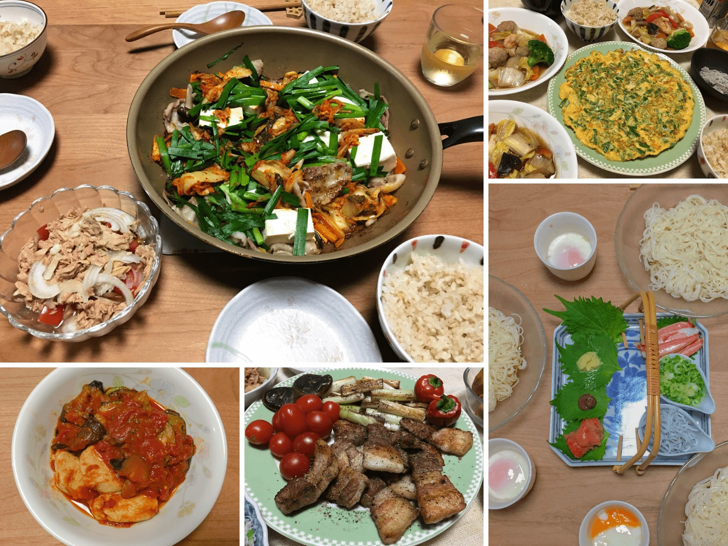 超簡単な晩御飯の写真