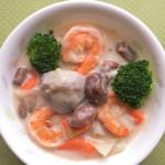 里芋のクリームシチューの写真