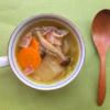 冬瓜のベーコンのスープの写真