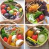 野菜たっぷり弁当の写真