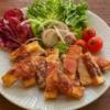高野豆腐のベーコン巻き揚げの写真
