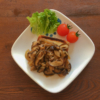 高野豆腐のステーキ・きのこソースの写真