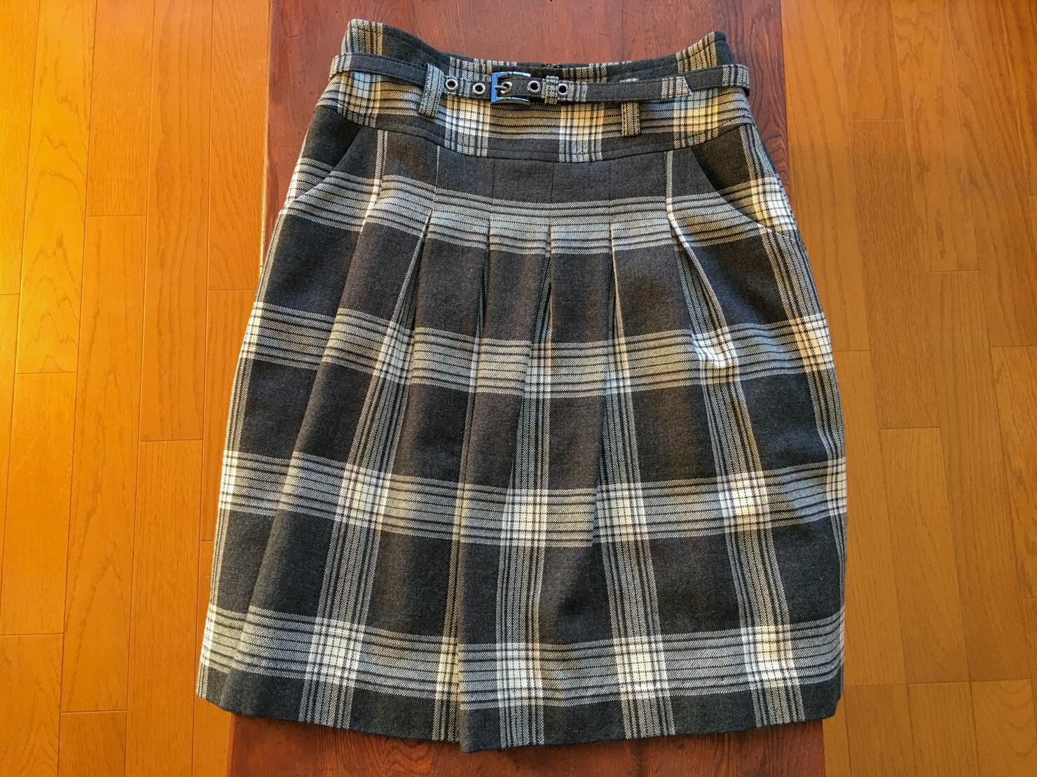 マイケル・コースのスカートの写真