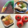 野菜と野菜たっぷりのおでんの写真